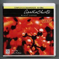 Black Coffee: by Agatha Christie - Unabridged Audiobook - 6CDs