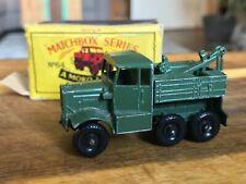 Matchbox no. 64 Scammel Breakdown Truck mit OVP