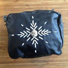 Deerhide Beaded & Quill Belt Bag - (Huron)