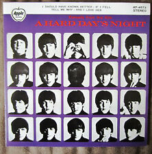 """The Beatles - Extracts From The Film A Hard Day's Night / VG+ / 7"""", EP, RE"""