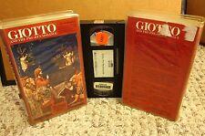 GIOTTO DI BONDONE & PRE-RENAISSANCE Museum Without Walls VHS painter Florentine