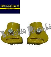 8276 SCARPETTE CAVALLETTO CENTRALE GIALLE DM 22 VESPA 125 150 200 COSA 1 2 CL
