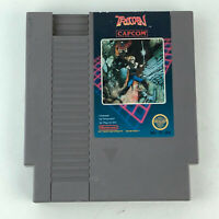 Nintendo NES Trojan Video Game Cartridge Only Authentic Capcom 1985 HG34
