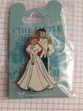 Ariel Eric wedding pin the Little Mermaid La Petite Sirène Disneyland Paris DLP