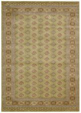 "CHINESE,TRADITIONAL, RUG, 5'3"" x 7'5"",2.26 x 1.60M GREEN,BEIGE,BLUE, TERRACOTTA"