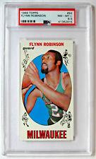 Flynn Robinson   1969 Topps Basketball #92   PSA NM-MT+ 8.5