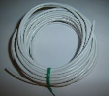 5 Ft 16 Gauge AWG Primary Car Alarm Power Wire 12V Electronic Cable White