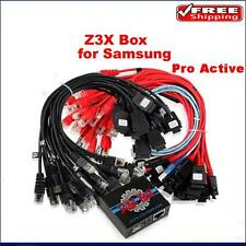Genuine Samsung Z3X Box + Card + SAMS-PRO Activation + Cables for Note S4 S5 S6