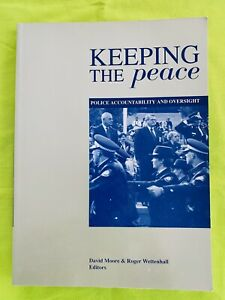 Keeping The Peace: Text Book (1994). University Of Canberra. Very Good Condition