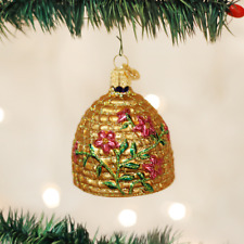 Old World Christmas Ornaments-Bee Skep