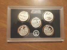 2017 S SILVER Proof America The Beautiful Quarter Set No Box or Coa  Lot of 10