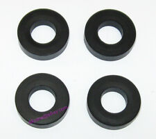 Fuel Injector Rail Lower Insulator Ring Seal for Nissan - 16636-53J00 Set of 4
