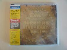 BURRN! Special Edition Japan CD Scorpions Bon Jovi Cinderella Obi Strip