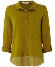 Maglie e camicie da donna maniche a 3/4 classici con colletto