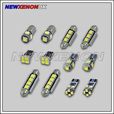 MERCEDES C CLASS (W203) - INTERIOR CAR LED LIGHT BULBS KIT (11pcs) - XENON WHITE