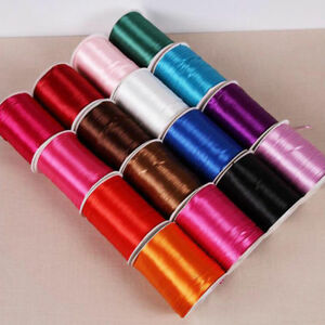 Satin Silk Band Necklace Accessory For Silicone Teething Beads Jewellery Making