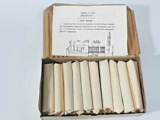 IV-9 NIXIE NUMITRON RUSSIAN TUBES NEW IN BOX !!! LOT OF 100 Pcs /SAME DATA CODE