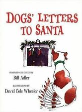New Dog's Letters to Santa by Bill Adler 2006 Hardcover Free Shipping!