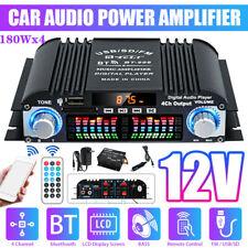 12V 720W Mini Bluetooth HiFi Stereo Verstärker Digital Audio Power Amplifier FM
