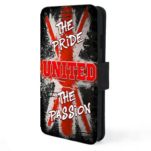 Man Utd iPhone Case Football Flip Phone Cover Pride & Passion Retro Gift PR41