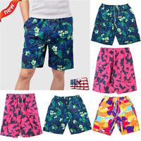 Men's Surf Board Shorts Summer Beach Shorts Pants Swiming Trunks Swimsuit L-4XL