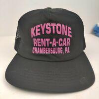 Vintage NEW ERA MADE IN USA Keystone Pennsylvania Mesh Trucker Hat Snapback Cap