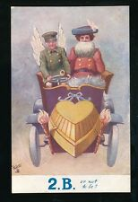 Comic Motoring 2B or not to be Tuck Oilette #4516 c1900s PPC