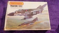MATCHBOX 1:72 F-4M/K PHANTOM Fighter Model Kit WINDOWED BOX PK-404 4 F4 COMPLETE