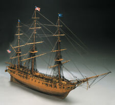 Mantua Models USS Constitution Wooden Ship Kit 1:98 Scale
