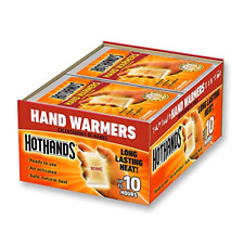 Hot Hands Hand Warmers Heat Up To 10 Hours Lot Of 40 Pair 80 Warmers Exp 6-2023