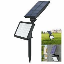 Garden Solar Spotlights Outdoor 48 LED Solar Lights Outdoor Ground or Wall Mount