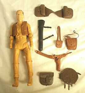 Vintage Marx Toy Johnny West Action Figure w/ Accessories Best of the West