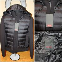 NEW*NWT Mens TUMI TRANSITIONAL NEOPRENE Puffer Hooded Zip Jacket : Size M $325