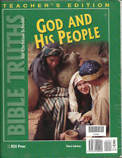 Bible Truths : Teacher Edition (2000 Paperback) BJU Press GOD AND HIS PEOPLE
