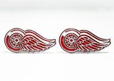 Detroit Red Wings Cufflinks NHL Hockey
