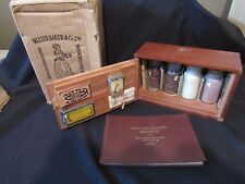 RARE 1925 Walter Baker Cocoa & Chocolate Salesman Sample Exhibit Original Box