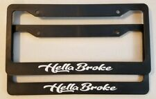 Daily Driven License Plate Frame Black Choose Color! jdm static vip drift ill