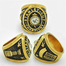 NHL STANLEY CUP REPLICA CHAMPIONSHIP RING 1967 MAPLES LEAFS WITH RING BOX