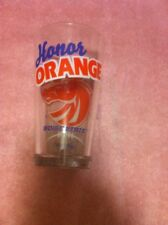 BOISE STATE BRONCOS  GLASS--HONOR ORANGE--ARBY'S--2012----FREE SHIP---VGC