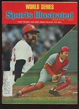 October 20 1975 Sports Illustrated Magazine With Johnny Bench Cover EX+