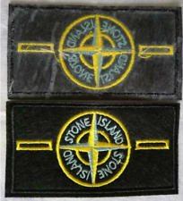 Patch Toppa Brand Stone Island Abbigliamento Marchio Ricamata Termoadesiva 9x5cm