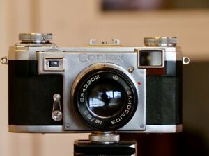 Zeiss Ikon Contax IIa Color Dial in gutem Zustand Contax 2a