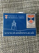 University Of St Saint Andrews Scotland Founded 1413 Lapel Backpack Souvenir Pin