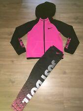 Girls Nike Tracksuit Top & Leggings Size 6-7 Years