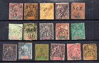 France New Caledonia used collection High Cat Value (odd fault) WS18918