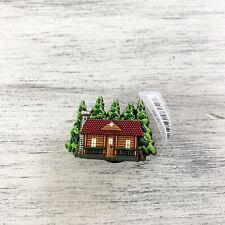 Log Cabin 06-08 Collectible Jibbitz charm for Crocs shoes