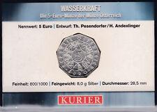 5 Euro Münze Jahr des Wassers - Wasserkraft im Miniblister