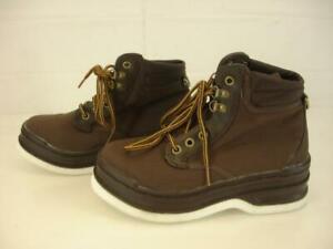 Mens 7 M HODGMAN LAKESTREAM Felt Bottom Wading Fly Fishing Boots Lace-Up Ankle