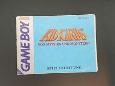 Kid Icarus | Gameboy  | Spielanleitung | Anleitung  | Game Boy