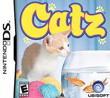 EUC CATZ Nintendo DS, 2006 ADULT OWNED & OPERATED RATED E ORIGINAL CASE & MANUAL